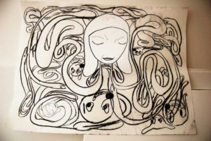 Works on Paper - Drawings - Tatjana Milosevic
